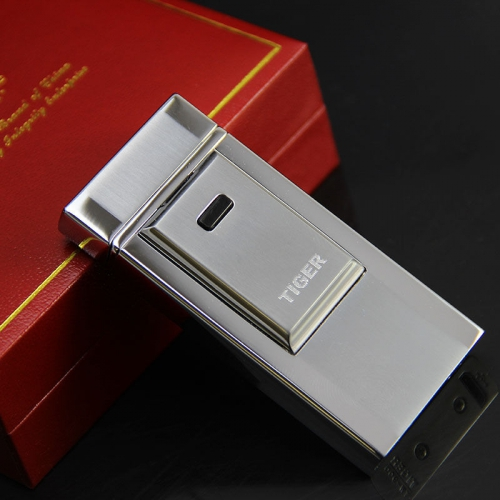 Tiger Lighter Silver